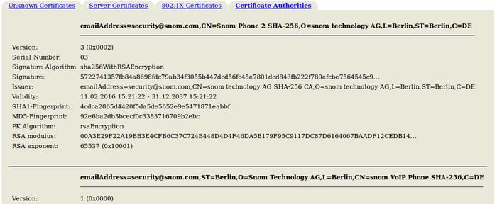 TLS Support