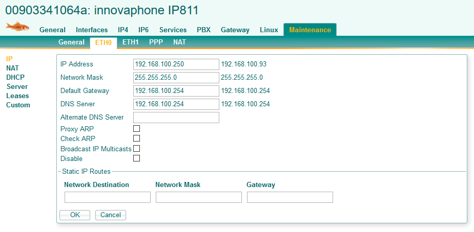 Setting up a Snom Phone on Innovaphone PBX - IP811